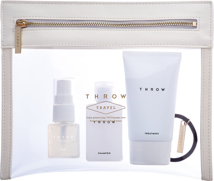THROW TRAVEL SET