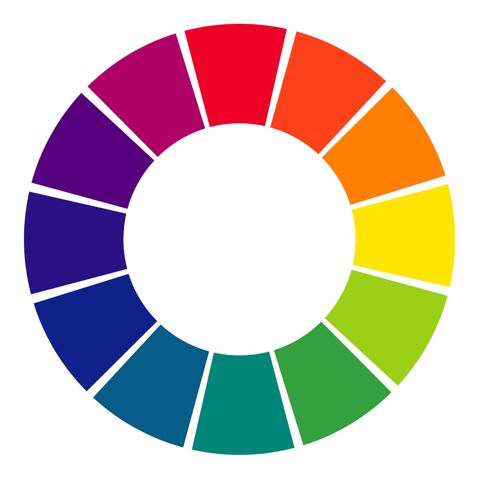 イラスト色相環のコピー のコピー